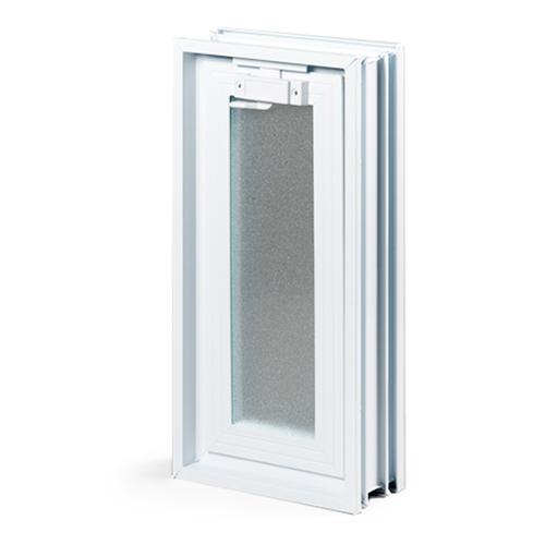 okno wentylacyjna do luksferów 1x2
