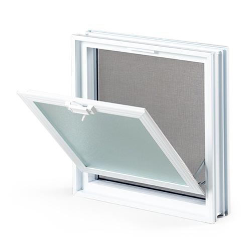 okno wentylacyjne do pustaków szklanych 2x2-1