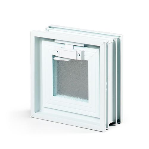 okienko wentylacyjne 1x1 do pustaków szklanych