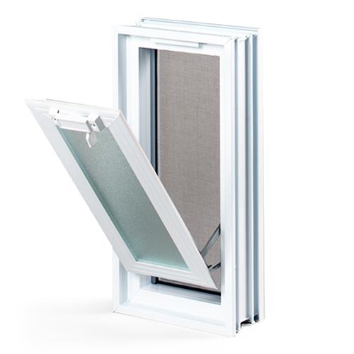 okno wentylacyjna do luksferów 1x2-1